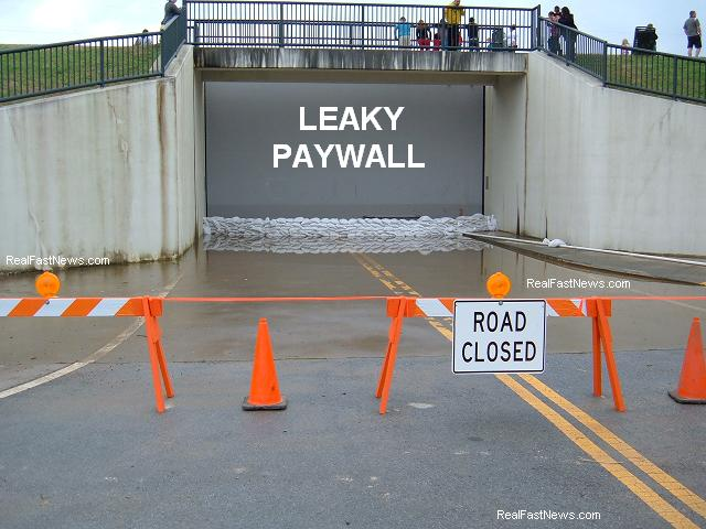leaky paywall